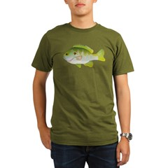 Redear Sunfish fish Organic Men's T-Shirt (dark)
