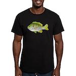 Redear Sunfish fish Men's Fitted T-Shirt (dark)