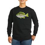 Redear Sunfish fish Long Sleeve Dark T-Shirt