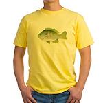 Redear Sunfish fish Yellow T-Shirt