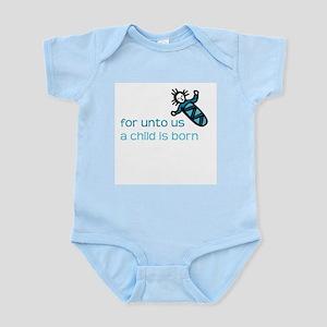 Unto us a Child is Born Infant Creeper