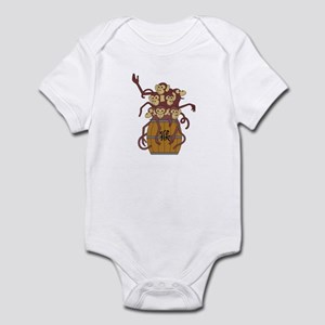 Funny Year of The Monkey Infant Bodysuit
