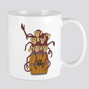 Funny Year of The Monkey Mug
