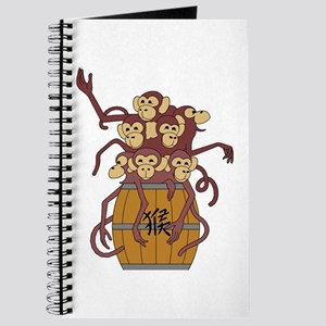Funny Year of The Monkey Journal