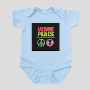 Wage Peace Rainbow Body Suit