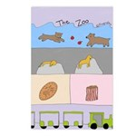 The Zoo Postcards (package Of 8)