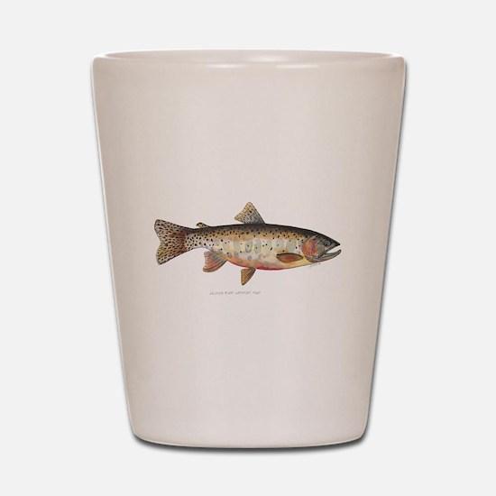 Colorado River Cutthroat Trout Shot Glass