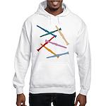 Colorful Clarinets Hooded Sweatshirt