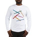 Colorful Clarinets Long Sleeve T-Shirt