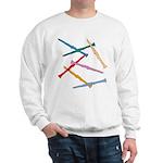 Colorful Clarinets Sweatshirt