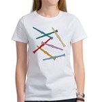 Colorful Clarinets Women's T-Shirt