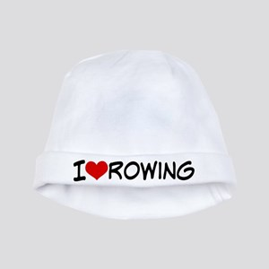 I Heart Rowing baby hat