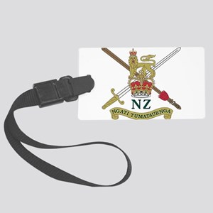 New Zealand Army crest Large Luggage Tag