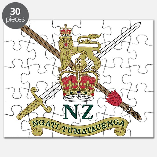New Zealand Army crest Puzzle