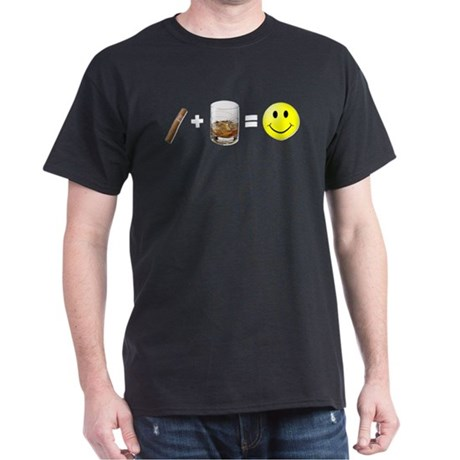 Cigar Bourbon White T-Shirt