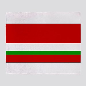Tajikistan - National Flag - 1991-1992 Throw Blank