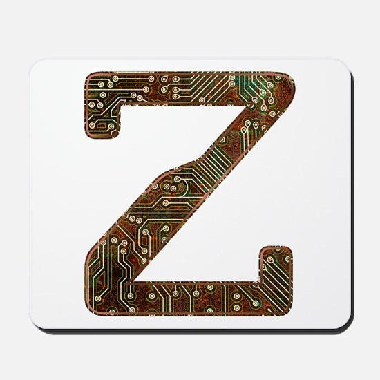 Z Circuit Mousepad