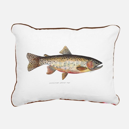 Colorado River Cutthroat Trout Rectangular Canvas