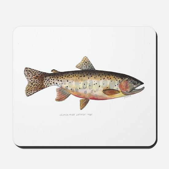 Colorado River Cutthroat Trout Mousepad