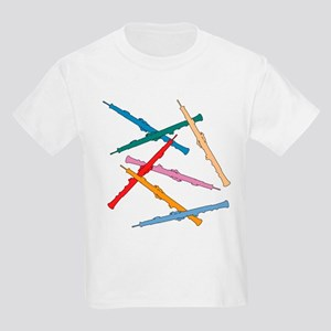 Colorful Oboe Kids T-Shirt