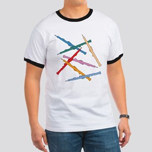 Colorful Oboe Ringer T