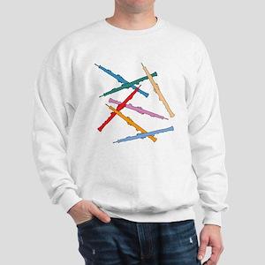 Colorful Oboe Sweatshirt
