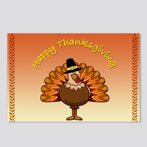 Happy Thanksgiving - Postcards (Package of 8)