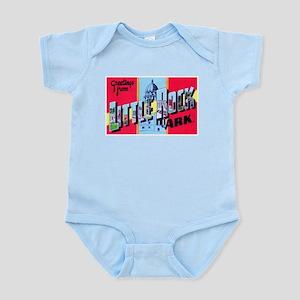 Little Rock Arkansas Greetings Infant Bodysuit