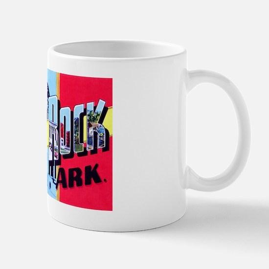 Little Rock Arkansas Greetings Mug