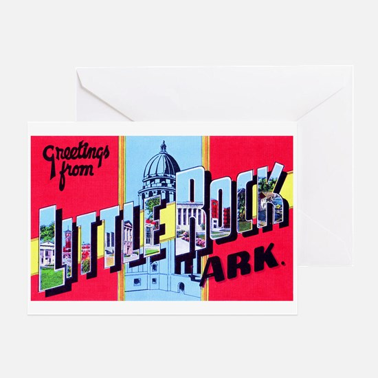 Little Rock Arkansas Greetings Greeting Card