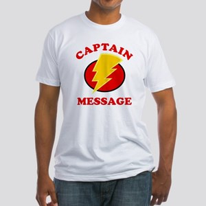Personalized Super Hero Fitted T-Shirt