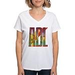 ADL Adelaide Women's V-Neck T-Shirt