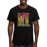 ADL Adelaide Men's Fitted T-Shirt (dark)