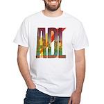 ADL Adelaide White T-Shirt