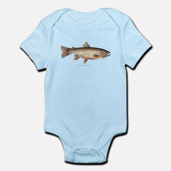 Colorado River Cutthroat Trout Infant Bodysuit