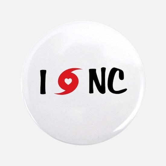 "I LOVE NC 3.5"" Button"