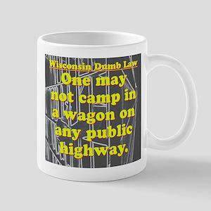 Wisconsin Dumb Law 004 11 oz Ceramic Mug