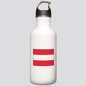 Austria - National Flag - Current Water Bottle