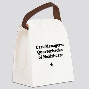 Care Manegers: Quarterbacks of Healthcare Canvas L