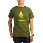 Bee Miner Organic Men's T-Shirt (dark)