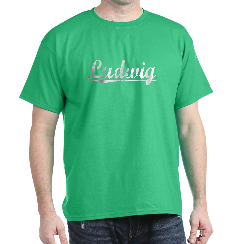 CafePress-Ludwig-Vintage-Dark-T-Shirt-100-Cotton-T-Shirt-719767301 thumbnail 50