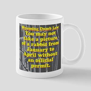 Wyoming Dumb Law 004 11 oz Ceramic Mug