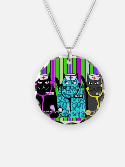 nurse cat blanket 2 stripes.PNG Necklace