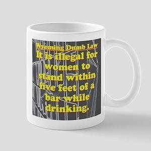 Wyoming Dumb Law 003 11 oz Ceramic Mug