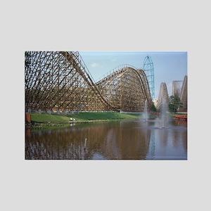 Roller Coaster Rectangle Magnet