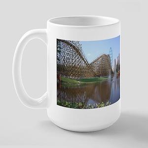 Roller Coaster Large Mug