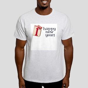 New Year Vintage Ash Grey T-Shirt