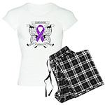 Survivor Pancreatic Cancer Women's Light Pajamas