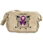Survivor Pancreatic Cancer Messenger Bag