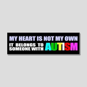 Autism awareness Car Magnet 10 x 3